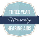 Three Year Warranty on Hearing Aids